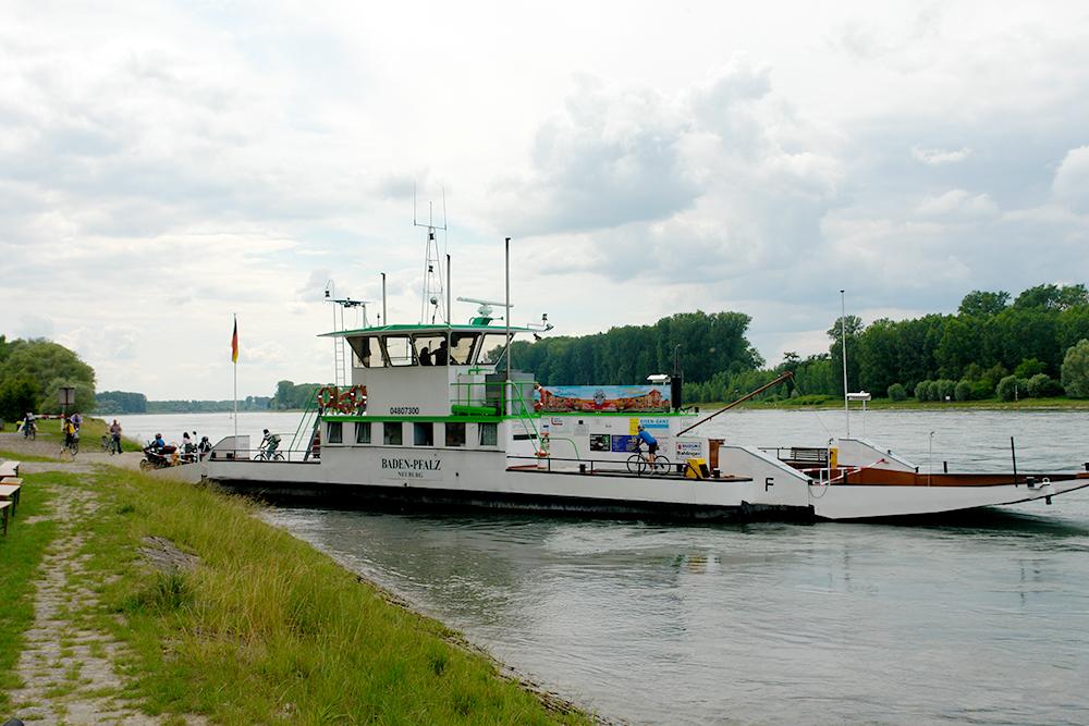 Fähre Rheinstetten